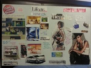 LaToya's 5 year vision board