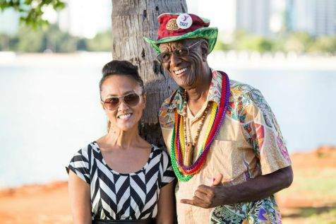 Me and Wally Amos